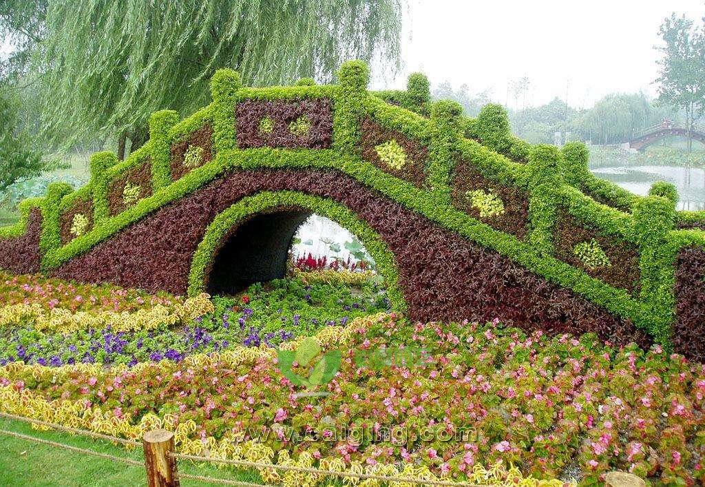 造景立体花坛