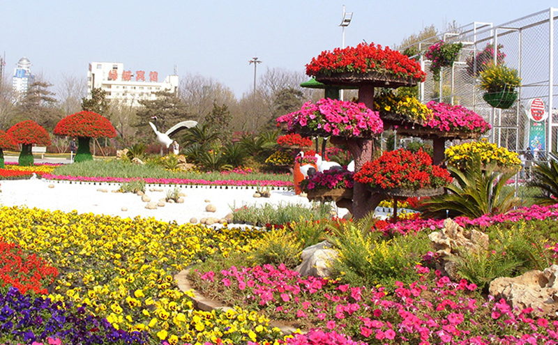 立体花坛施工规范与养护标准