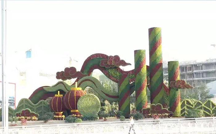 绿雕常识-绿雕景观的制作方法及应用