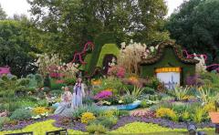 立体花坛造型大图与立体花坛设计注意事项