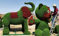 <b>安徽仿真绿雕动物制作-仿真绿雕的安装步骤</b>